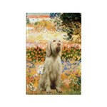 Garden Fiorito/ Spinone Rectangle Magnet