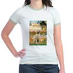 Garden Fiorito/ Spinone Jr. Ringer T-Shirt