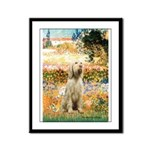 Garden Fiorito/ Spinone Framed Panel Print