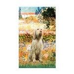Garden Fiorito/ Spinone Sticker (Rectangle)