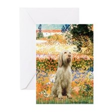 Garden Fiorito/ Spinone Greeting Cards (Pk of 20)