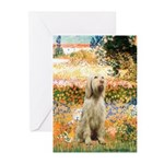 Garden Fiorito/ Spinone Greeting Cards (Pk of 10)