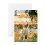 Garden Fiorito/ Spinone Greeting Card