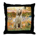 Garden Fiorito/ Spinone Throw Pillow