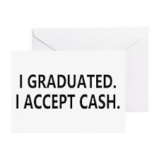 Graduation Cash Greeting Card