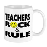 TEACHERS ROCK & RULE MUG