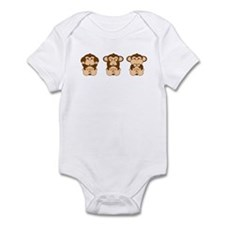 Hear, See, Speak No Evil Infant Bodysuit