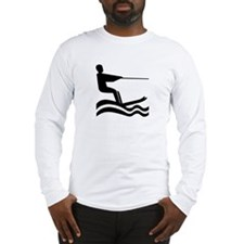 Water Skiing Long Sleeve T-Shirt