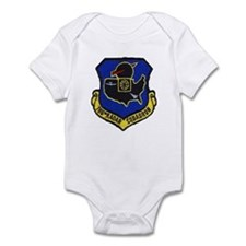 786th AC&W Radar Squadron Infant Bodysuit