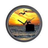 Pelican Wall Clocks