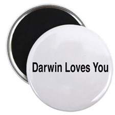 "Darwin Loves You 2.25"" Magnet (100 pack)"