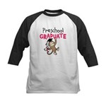 Preschool Graduate - Monkey (Pink) Kids Baseball J
