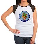 607th AC&W Squadron Women's Cap Sleeve T-Shirt