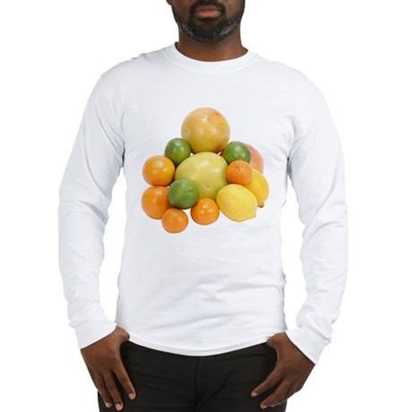 Some Citrus Fruit On Your Long Sleeve T-Shirt