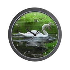 Cute Swan Wall Clock
