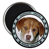 "Ascension Parish Animal Shelter 2.25"" Magnet (10 p"