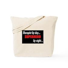 Superhero Therapist Tote Bag