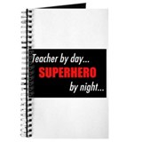 Superhero teacher Journal