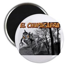 Chupacabra in the Woods 5 Magnet