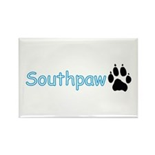 Southpaw (Wolf) Rectangle Magnet (10 pack)