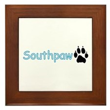 Southpaw (Wolf) Framed Tile