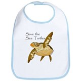 Save Sea Turtles Bib