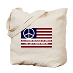Canvas Peace Tote