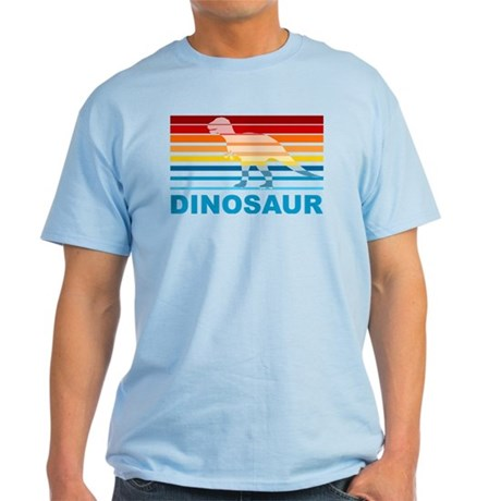 Colorful Dinosaur Light T-Shirt