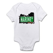 MARINE AV, BROOKLYN, NYC Infant Bodysuit