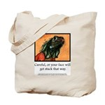 Signature Lizard Canvas Tote
