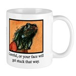 Signature Lizard Mug (righty)