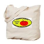 Organic Tomato Canvas Tote