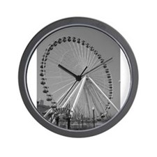 Navy Pier Ferris Wheel Wall Clock
