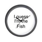 I guess I'm the Fish Wall Clock