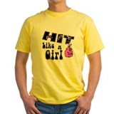 Hit Like A Girl T