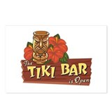 Tiki Bar is Open II - Postcards (Package of 8)