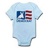 Democratic Flag Onesie