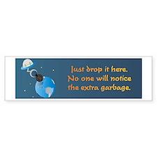Extra Garbage Bumper Sticker (10 pk)