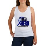 Never Knew A Hero 2 Blue (Grandpa) Women's Tank To