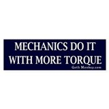 Mechanics Bumper Bumper Sticker
