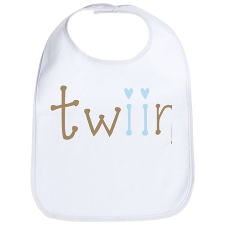 Twin Boys Twiin Bib