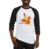 Chicken Mom Baseball Jersey
