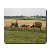Baling Hay Mousepad