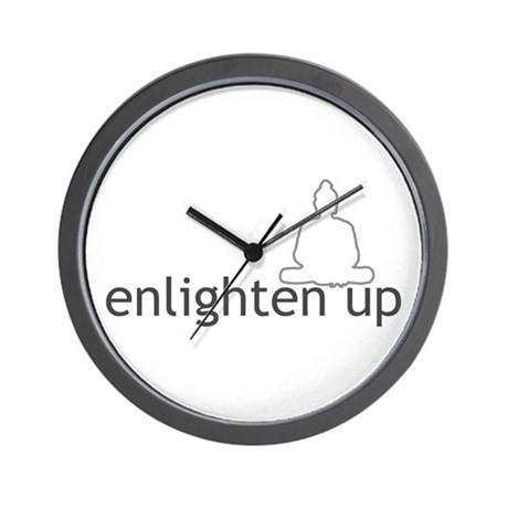 Enlighten Up With Buddha Wall Clock