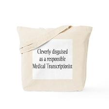 Med. Transcription Tote Bag
