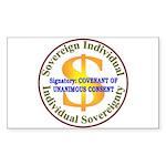 IS-CUC Rectangle Sticker 50 pk)