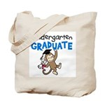 Kindergarten Graduate - Monkey (Blue) Tote Bag