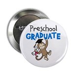 Preschool Graduate - Monkey (Blue) 2.25