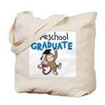 Preschool Graduate - Monkey (Blue) Tote Bag