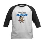 Preschool Graduate - Monkey (Blue) Kids Baseball J
